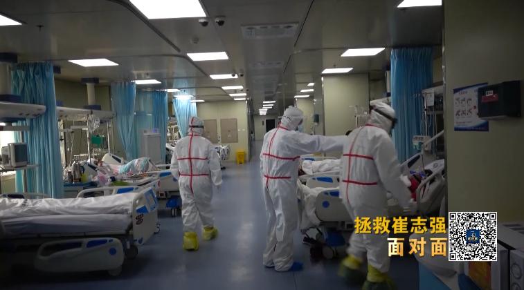 """面对面丨看""""史诗级救治""""!全球首位新冠肺移植出院患者如何换肺重生?"""