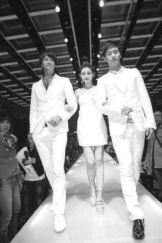 《泡沫之夏》开拍时,大S与何润东、黄晓明曾自信满满。