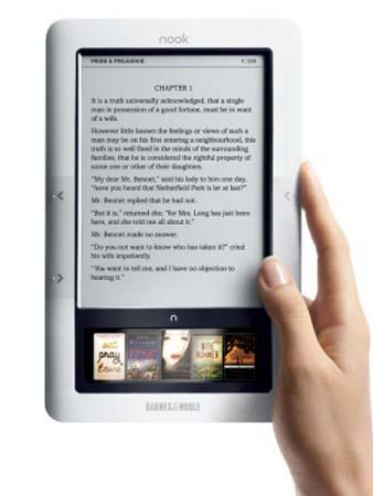 Barnes & Noble's new version of Nook(Photo source:WeiPhone.com)