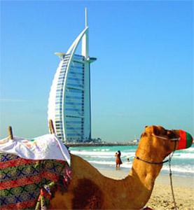 Temperatures are on the rise in Dubai, so does the influx of tourists in the sheikhdom.