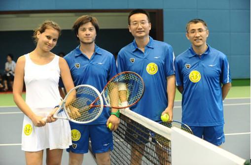 上海/上海大师赛提前热身 鸿星尔克助阵世博网球联谊邀请赛