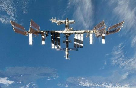 NASA image shows the International Space Station in 2009. A failure of the cooling system on the International Space Station forced astronauts to re-route power Sunday as NASA planned emergency spacewalks to fix the problem. (Xinhua/AFP Photo)