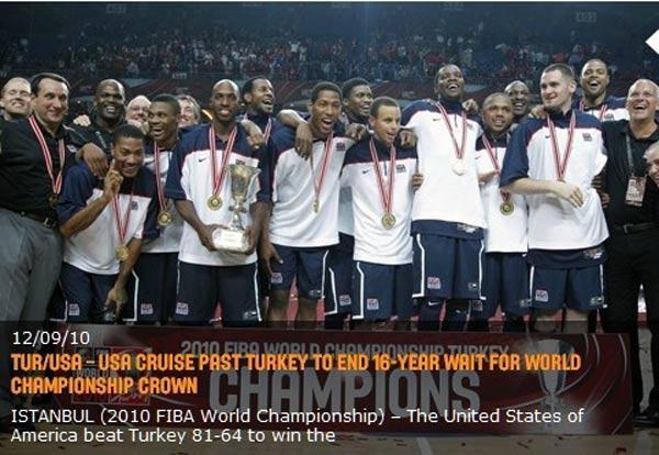 ...男篮世锦赛美国大胜土耳其 16年后再夺冠   >>>>>大话篮球:...