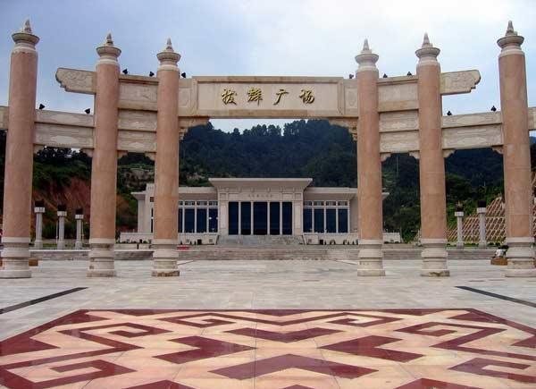青秀山风景区壮锦广场