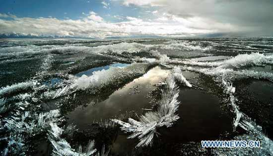 sayram lake xinjiang
