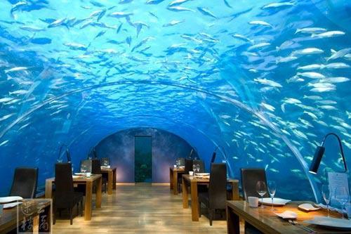 梦幻之境 马尔代夫海洋餐厅