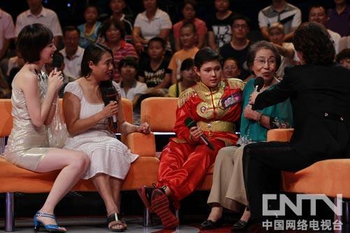 王小龙意外见到想念的姥姥