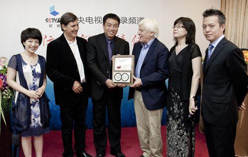 雅克•贝汉受聘为CCTV-9纪录频道首位荣誉国际顾问
