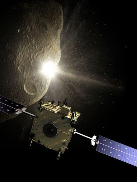 """""""堂吉诃德""""号任务将发射一颗名为""""Hidalgo""""的撞击器,撞击一颗小行星,""""Sancho""""号飞船则负责从远处监测撞击过程"""