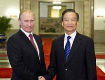 Les PM chinois et russe s´engagent à mener une coopération plus étroite