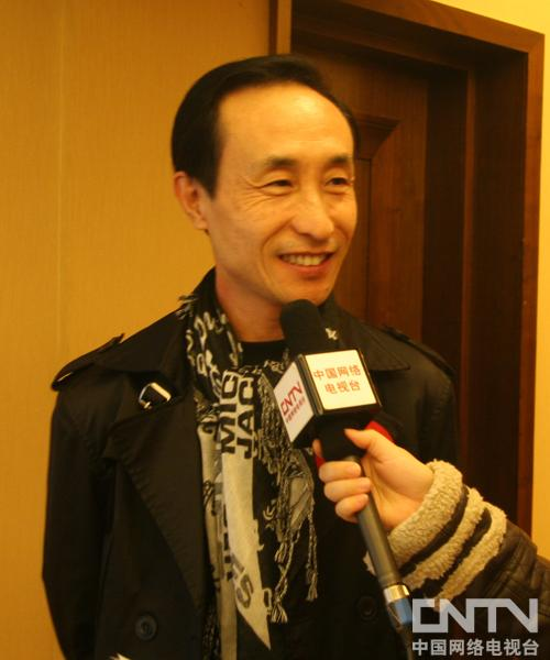 巩汉林接受CNTV动画台访问