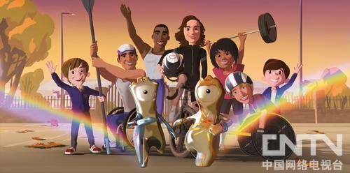 伦敦奥运主题动画《彩虹救援》