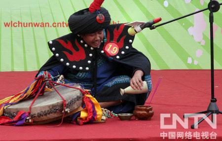 19号选手的民族特色歌舞