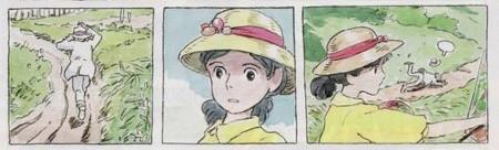 宫崎骏新作手稿