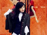 Кинозвезда Чжан Цзынчу попала на обложку модного журнала