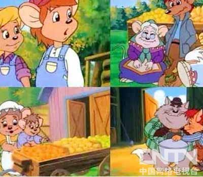描写了生活在大草原上的一群拟人化了的可爱小老鼠的生活趣事,他们