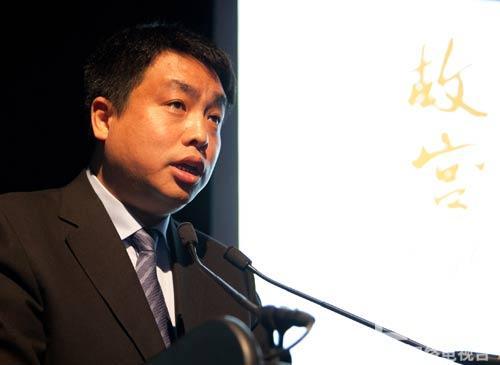 央视纪录频道总监刘文在推介会上进行频道及重点节目推介