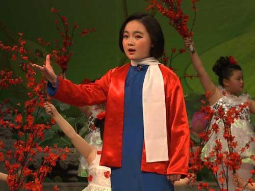 蔡雨桐表演《江姐》选段