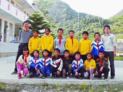 杨元松和孩子们