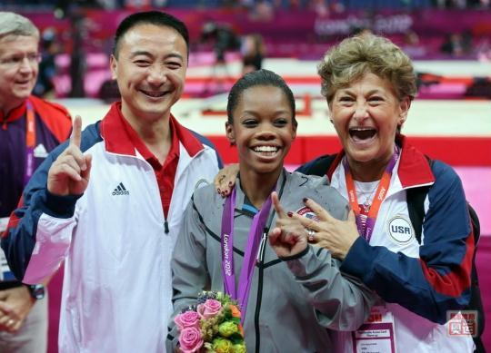 两美体操冠军 中国制造 黑珍珠慕名投奔乔良