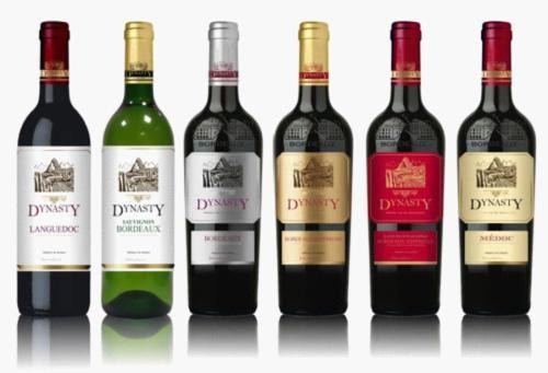 """""""法国王朝""""首批进入中国的六款AOP级葡萄酒系列产品(资料图)"""