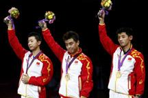 China beats South Korea 3-0 to take men´s table tennis team gold