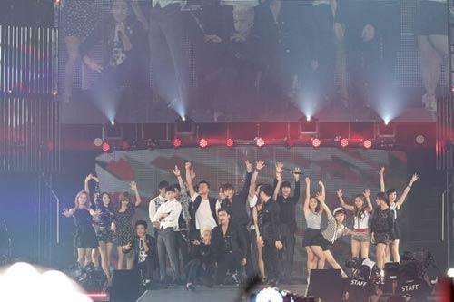 JYPNATION日本演唱会