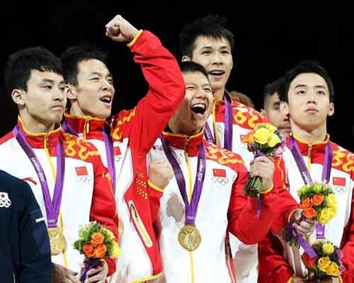 2012体坛风云人物最佳团队奖候选团队:中国男子体操 ...