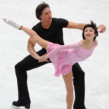 优子/川口优子与斯米尔诺夫冰上起舞