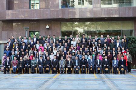 中广协会信息资料委员会2011年年会代表合影