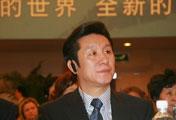 中央电视台总编室副主任倪代光在开幕式现场