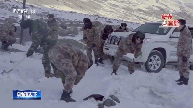 【新春走基层】他们在边玩什么游戏赚钱疆踏冰卧雪只为守护你的冷暖