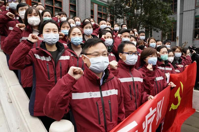 """命运与共,中国真正意图向世界展现战""""疫""""中的事情大国担当"""