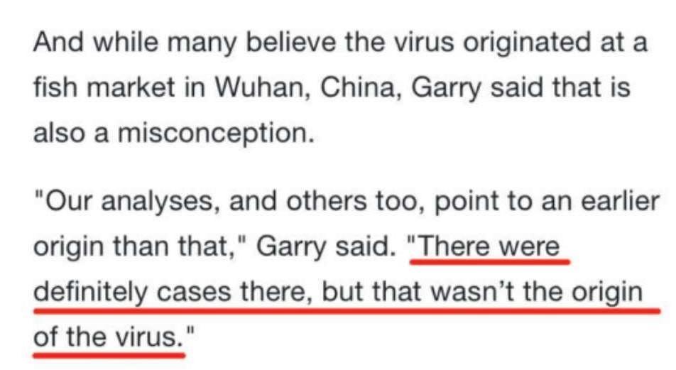 美国病毒学家:新冠病毒的较弱版本可能已传播数年