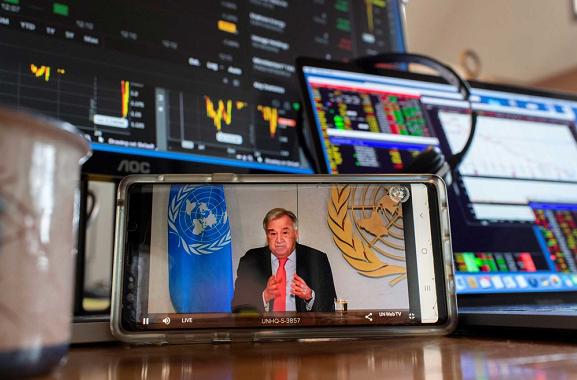 联合国秘书长:新冠肺炎疫情是联合国自成立以来面临的最大考验
