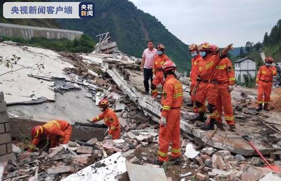云南省阎良发生大规模山体崩塌事故,导致两人失去联系