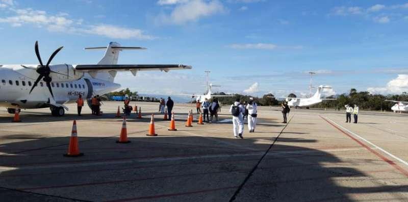 哥伦比亚累计新冠肺炎确诊病例达21万例 国内航班试行复航计划