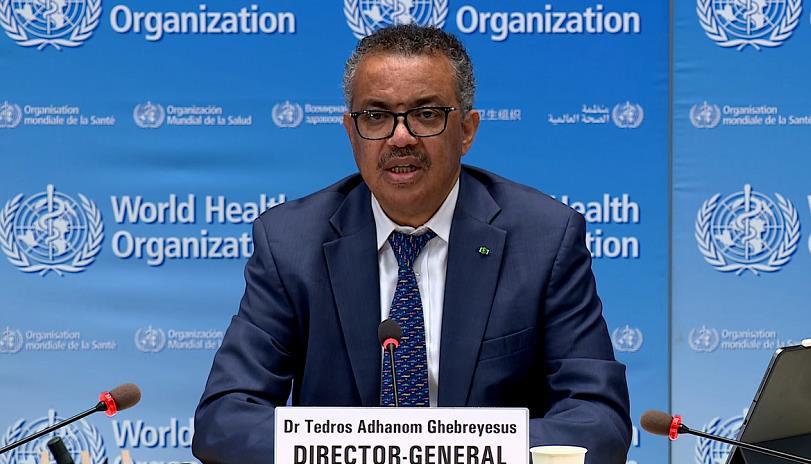 世卫组织总干事:中国等国家已控制住大规模疫情