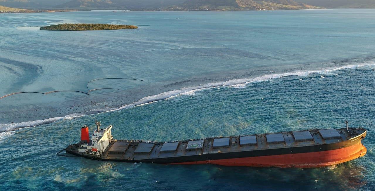 毛里求斯展开对涉事日本货船的调查 船员船长各执一词