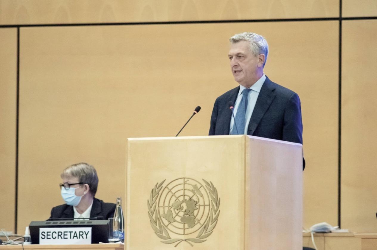 《【恒达娱乐平台注册】联合国难民署探讨疫情下的人道救援联合国难民高专呼吁:团结应对!》