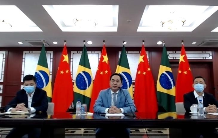《【恒达在线娱乐注册】中国政府第三批援助巴西防疫物资线上交接仪式举行》