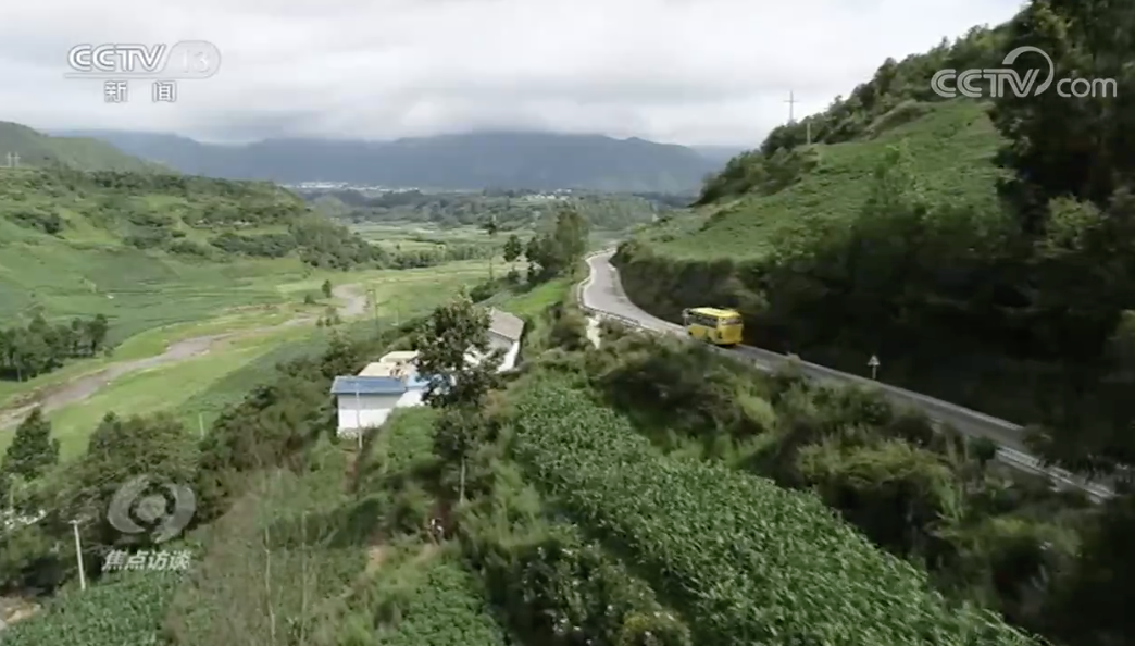 焦点访谈丨动用直升机、修了一整年,这3.8公里是条什么路?