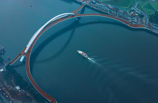 广州新地标!首座跨珠江两岸人行桥今天开通