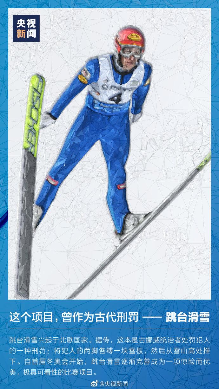 你知道吗?跳台滑雪曾是一种刑罚 这些冬奥会小知识了解一下→