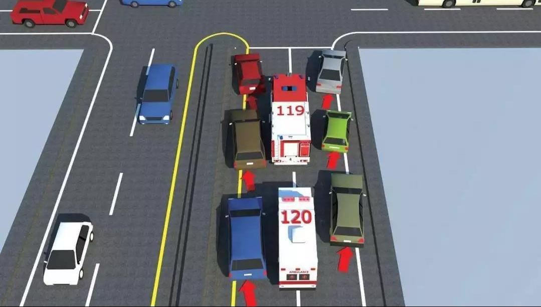 警车,消防车,救护车,工程救险车在执行紧急任务时,可以使用警报器
