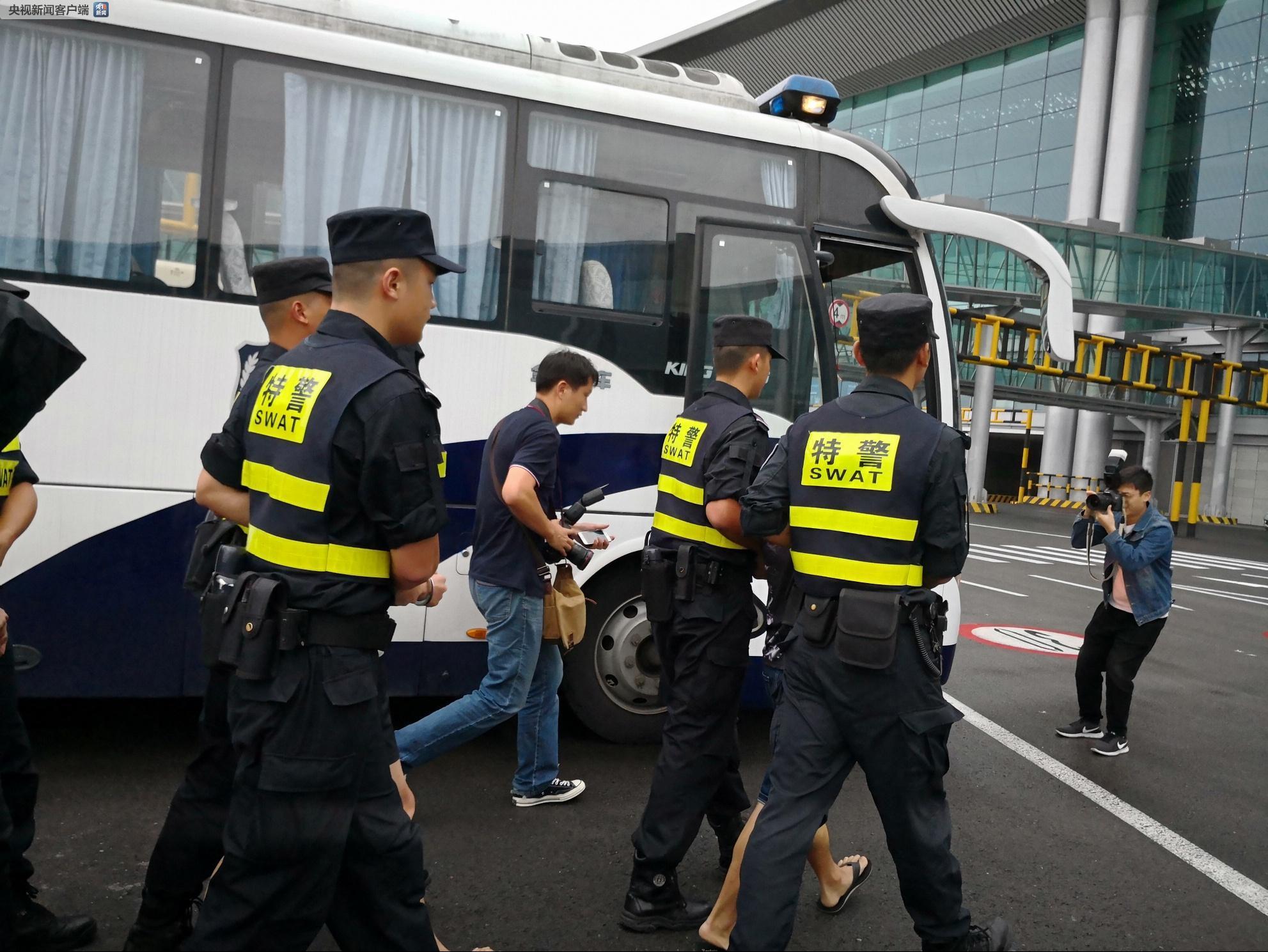 重庆警方跨境追逃 特大网贷诈骗犯罪团伙成员
