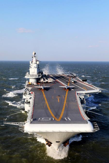 辽宁舰航母编队今天上午离开香港