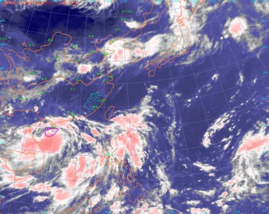 """""""塔拉斯""""三亚南部近海擦过 多地现强降雨"""