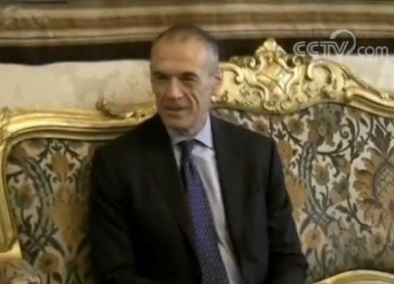 意大利总统任命科塔雷利为新候任总理 两大政