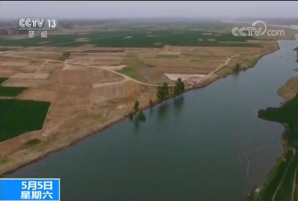 南水北调工程首次给白洋淀补水 计划补水一亿立